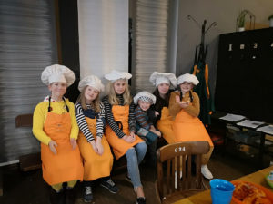Cookery session in Y Sied