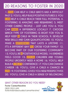20 Reasons to Foster in 2020