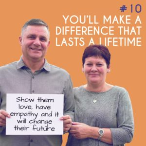Reason to Foster 10: You'll make a difference that lasts a lifetime