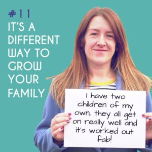 Reason to Foster 11: It's a different way to grow your family