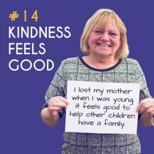 Reason to Foster 14: Kindness feels good