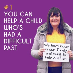 Reason to Foster 1: You can help a child who's had a difficult past