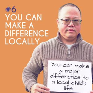 Reason to Foster 6: You can make a difference locally