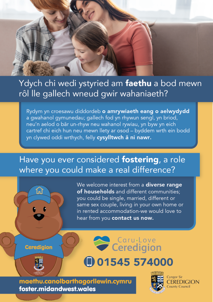 Have you considered fostering in Ceredigion