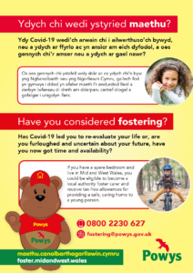 Have you considered fostering in Powys